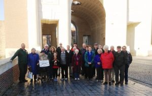 16 The Group at the Menin Gate, Ypres