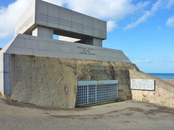 National Guard Monument – Omaha Beach