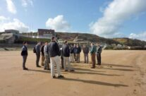 The Group on Omaha Beach – Normandy and D-Day Landings Tour