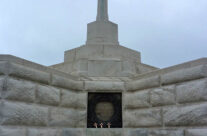 Cross of Sacrifice at Tyne Cot Cemetery – Somme and Ypres Battlefield Tour