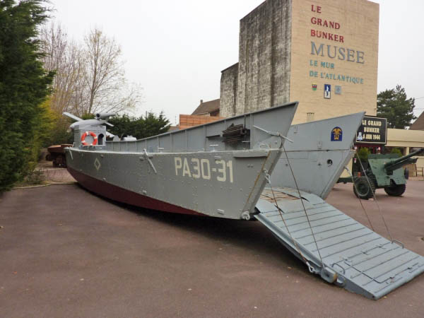 01 Landing Craft used in the film Saving Private Ryan