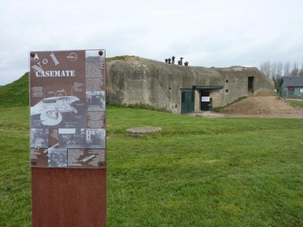 02 Casement 1 Merville Gun Battery