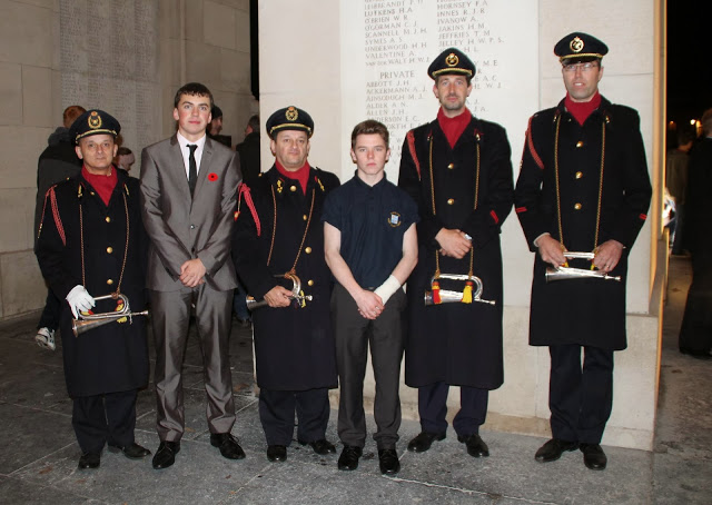 03 Cadets with Last Post Buglers