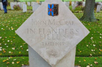 John McCrae's 'In Flanders Field' Memorial at Essex Farm Cemetery and Advanced Dressing Station – Somme and Ypres Battlefield Tour