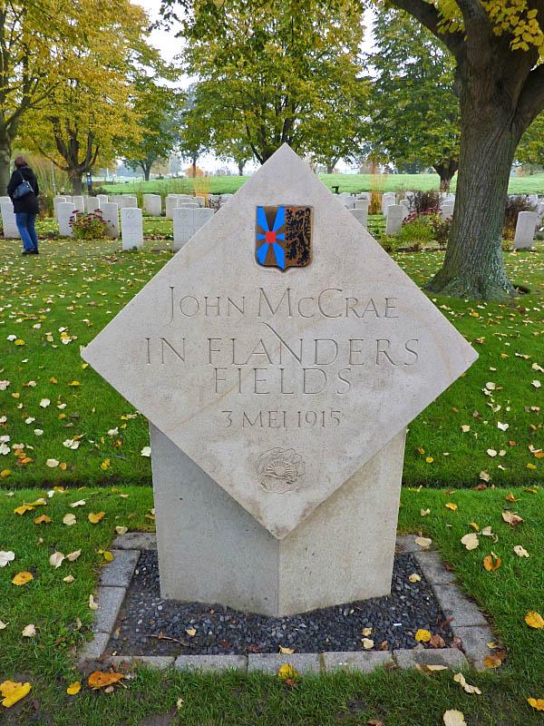 04 John McCrae in Flanders Field Memorial
