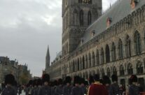 Coldstream Guards at the Cloth Hall – 2013 Armistice Day in Ypres and Battlefield Tour
