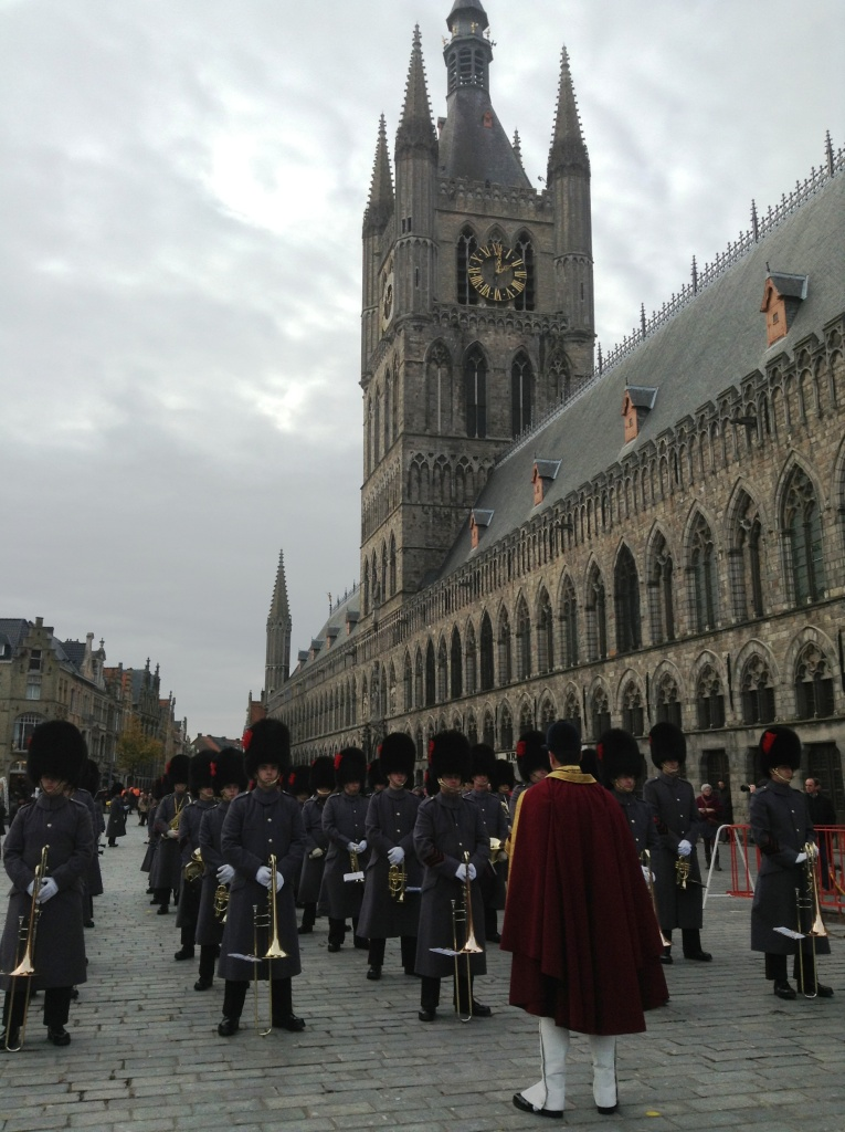 06 Coldstream Guards at the Cloth Hall