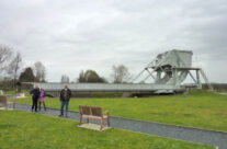 The original Pegasus Bridge in the museum grounds – Normandy and D-Day Landings Tours