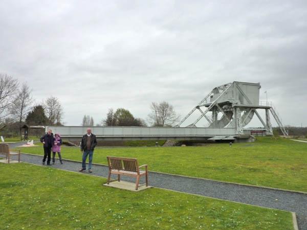 06 The original Pegasus Bridge in the museum grounds