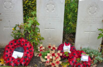 The grave of Rifleman V J Strudwick, Age 15, Essex Farm Cemetery – Somme and Ypres Battlefield Tour