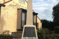 The Royal Irish Regiment Memorial at La Bascule Crossroads, Mons – Mons and Ypres Battlefield Tour