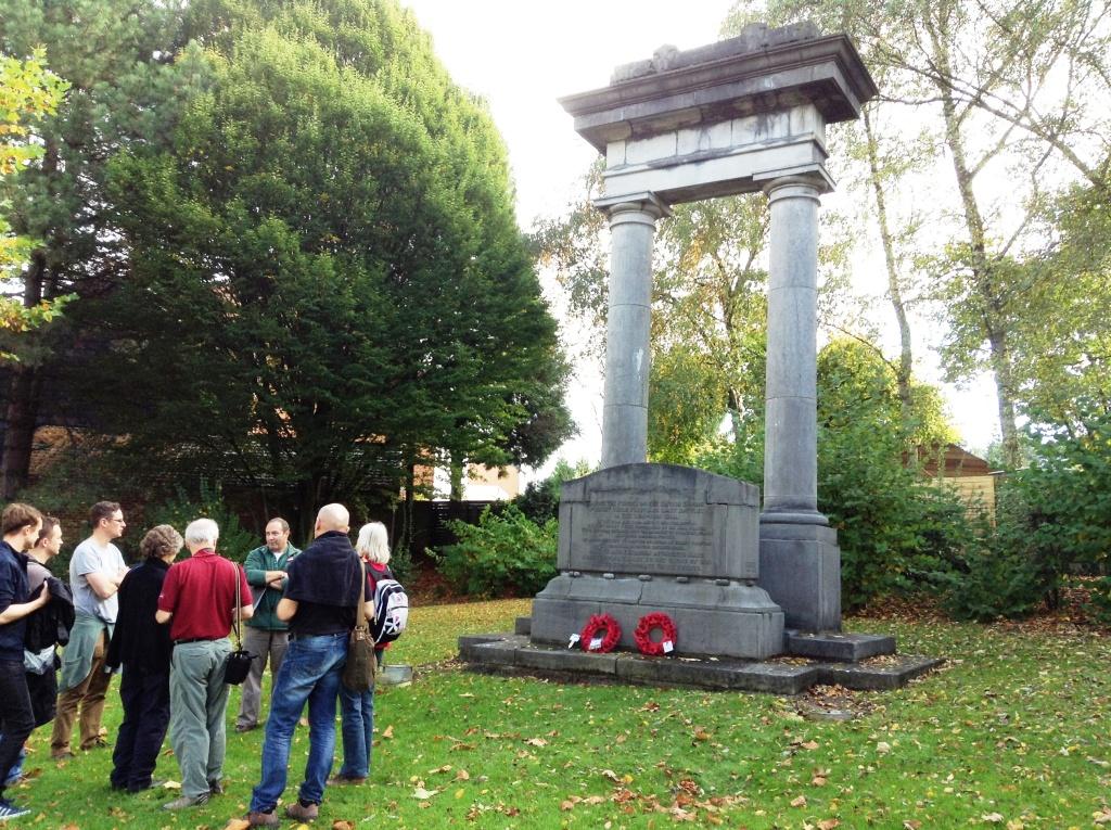 08 BEF Memorial at La Bascule crossroads, Mons