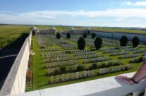 Dud Corner and Loos Memorial from viewing platform – Loos and Ypres Battlefield Tour