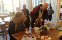 Nigel being 'Mum' at Talbot House, Poperinge – 2013 Armistice Day in Ypres and Battlefield Tour