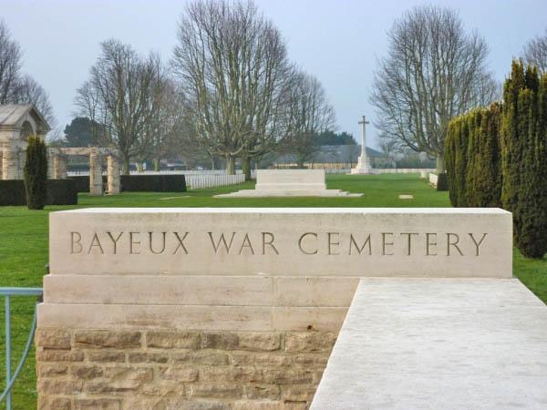 13 Bayeaux War Cemetery