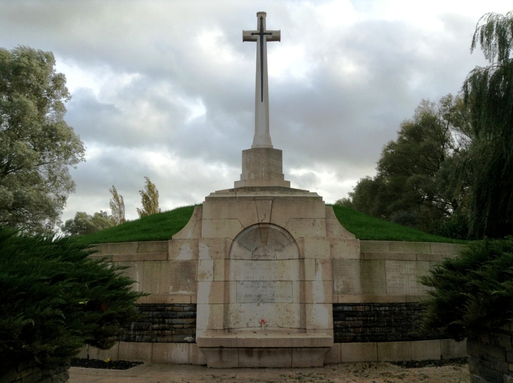 14 New Zealand Memorial at Messines Ridge Cemetery