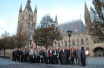 The Cleveland Army Cadets at the Cloth Hall, Ypres – Somme and Ypres Battlefield Tour