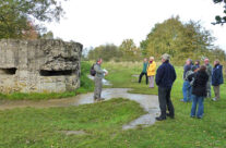 Remains of a German Pillbox at Hill 60 – Somme and Ypres Battlefield Tour