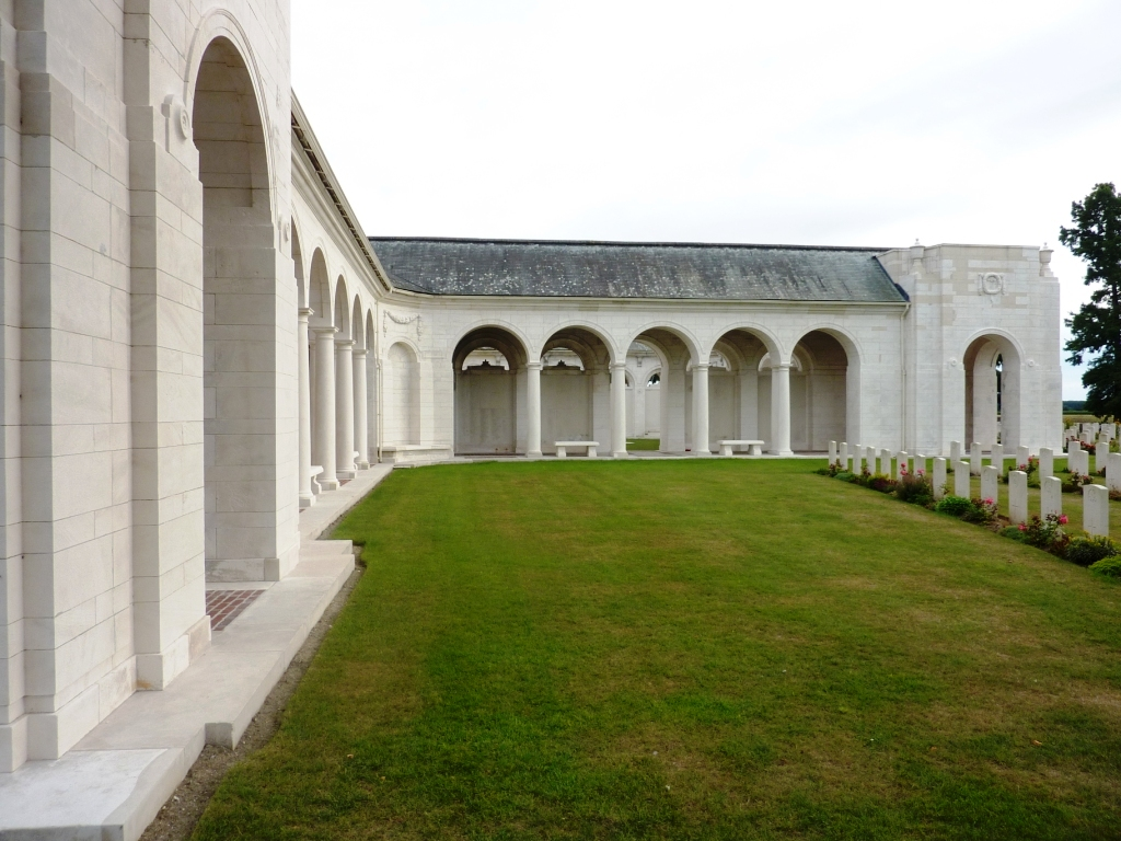 19 Le Touret Memorial and Cemetery