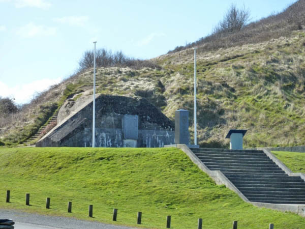 20 German strong point at Easy Red Sector Omaha Beach. Taken by 'The Big Red One' (US 1st Div)