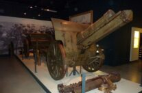British Howitzer in the Passchendaele Museum – Loos and Ypres Battlefield Tour