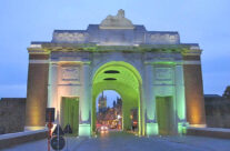 Early evening at the Menin Gate – Somme and Ypres Battlefield Tour