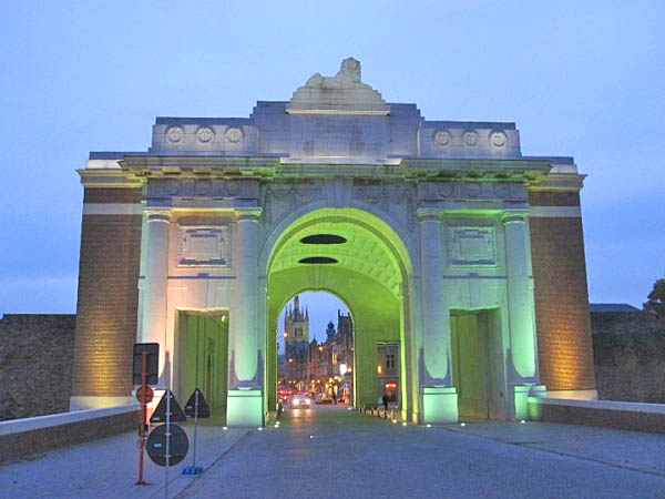 22 Early evening at the Menin Gate