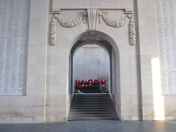 25 Our Wreath at The Menin Gate
