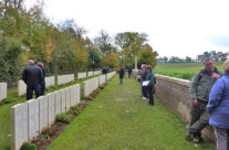 Devonshire Trench Cemetery – Somme and Ypres Battlefield Tour