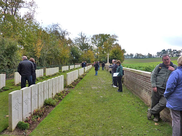 27 Devonshire Trench Cemetery