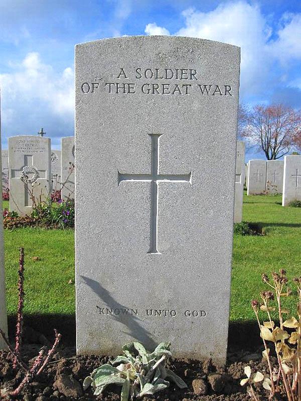 44 An unknown soldier