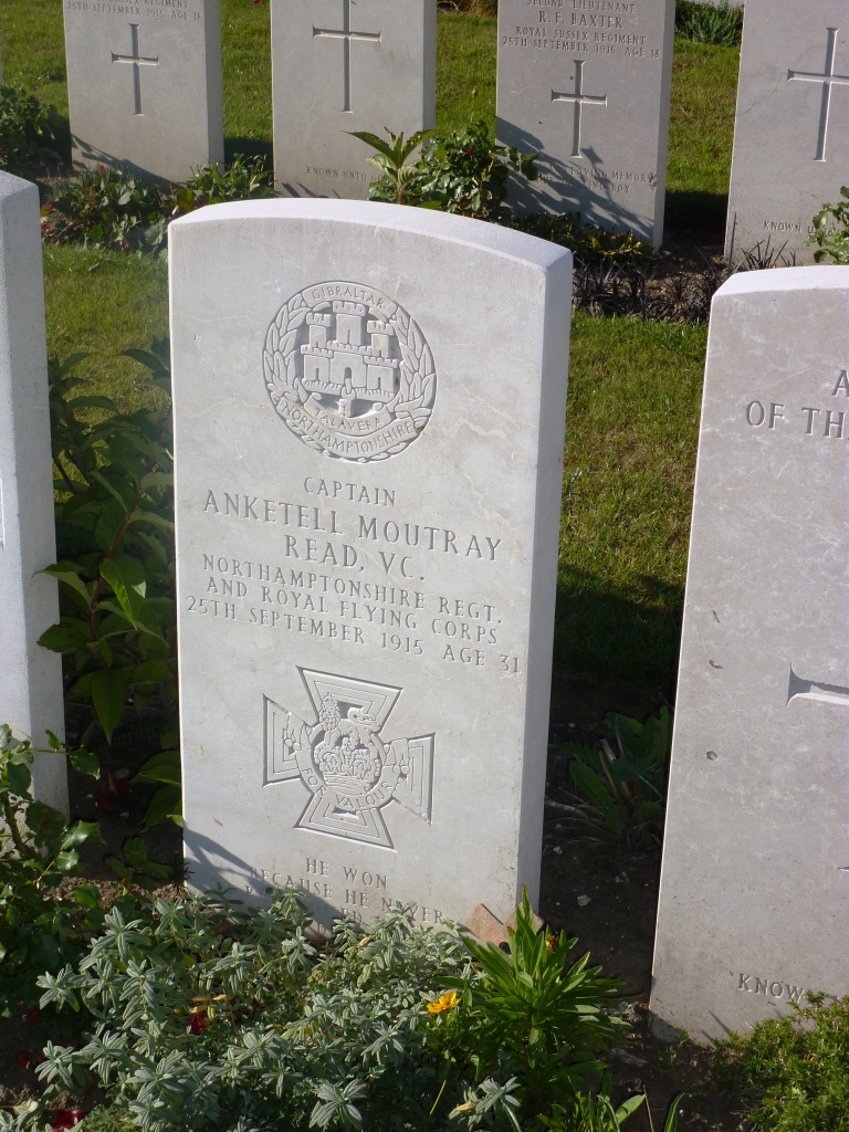 5 Headstone of Capt Anketell Moutray Read VC, Dud Corner Cemetery