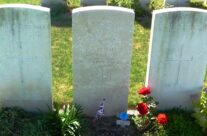 Lt John Kipling's grave in St Mary's ADS Cemetery, Loos – Loos and Ypres Battlefield Tour