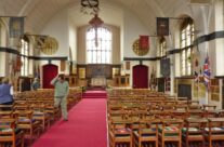 Inside St George's Memorial Church, Ypres – Somme and Ypres Battlefield Tour