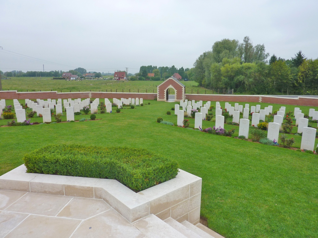 04. Fromelles (Pheasant Wood) Military Cemetery