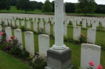 A private memorial at Heilly Station Cemetery – Somme Battlefield Tour