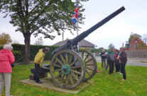 The Krupp Cannon at St Eloi – Somme and Ypres Battlefield Tour