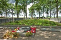 Comrades mass grave at Langemark German Cemetery