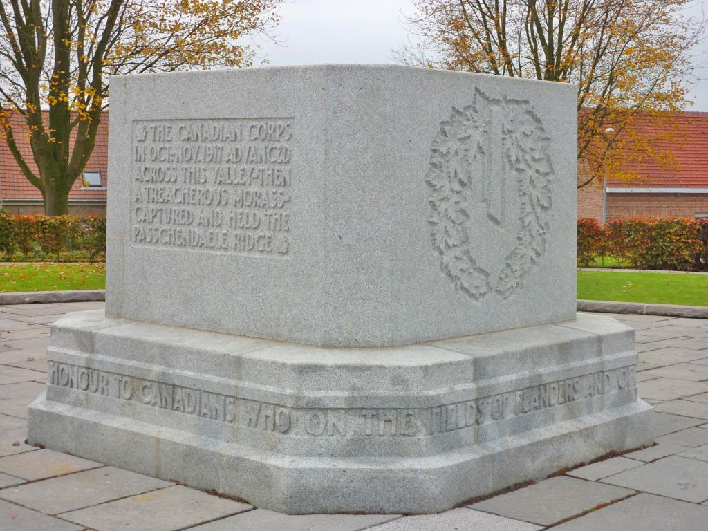 13. Passchendaele Canadian Memorial