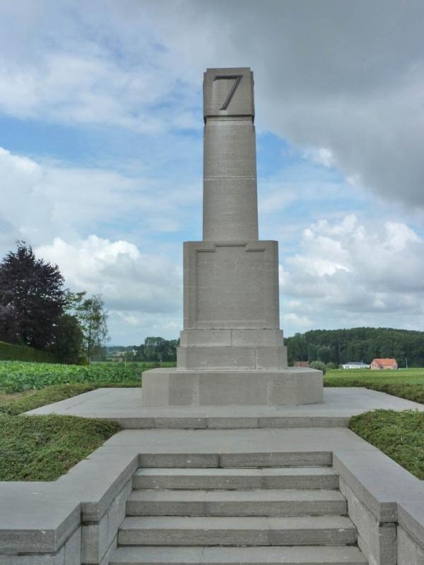 20 7th Division Memorial, near Zonnebeke