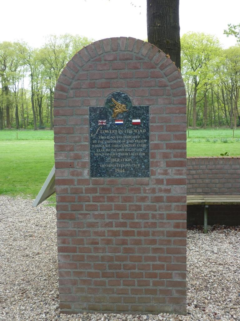 20. Flowers in wind memorial