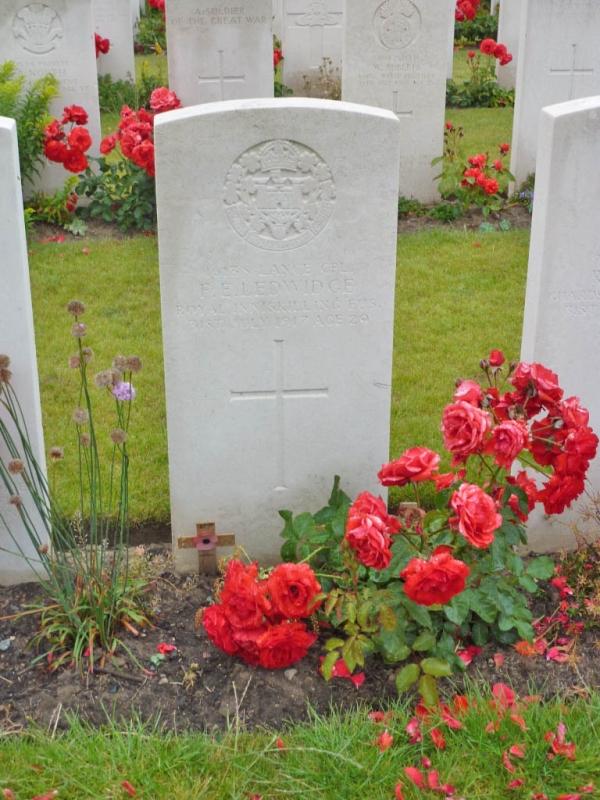 24 Grave of WW1 poet Francis Ledwidge