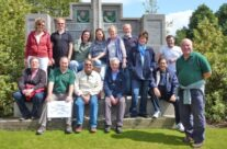 The tour party at Hill 60 – Somme and Ypres Battlefield Tour