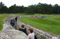 Walking through the trenches at Vimy Ridge – Somme Battlefield Tour