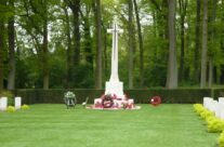 Cross of Sacrifice, Groesbeek Canadian War Cemetery – Arnhem Battlefield Tour
