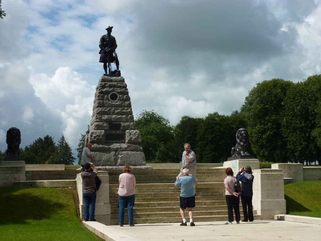 5 51st Highland Division Memorial at Newfoundland Park