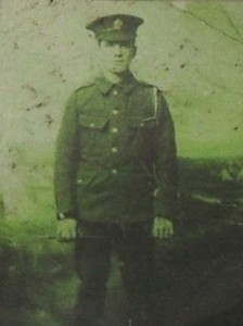 Rifleman Valentine Joe Strudwick
