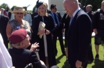 William Hague meets WW2 Veterans at the 70th Anniversary Ceremony at Bayeux War Cemetery – Normandy & D-Day Landings 70th Anniversary Ceremony & Battlefield Tour