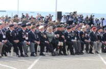 WW2 Veterans at the Arromanches Ceremony – Normandy & D-Day Landings 70th Anniversary Ceremony & Battlefield Tour