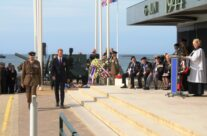 Prince Williams lays a wreath at the Ceremony at Arromanches – Normandy & D-Day Landings 70th Anniversary Ceremony & Battlefield Tour